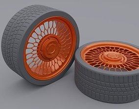 equipment car tire 3D