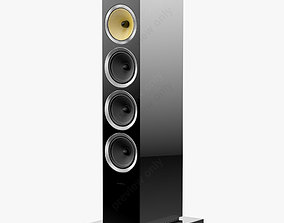 3D model Bowers and Wilkins CM10 S2 Gloss Black