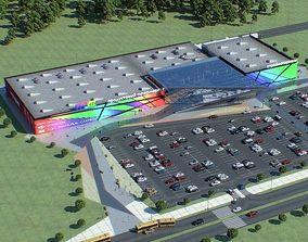 Shopping Mall 03 3D model