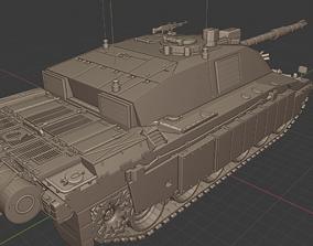 Challenger 2 Tanks 3D printable model