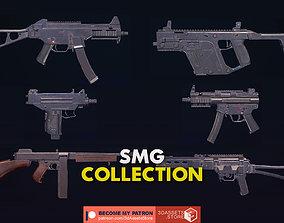 Collection SMG Gun Pack Bundle 3D model
