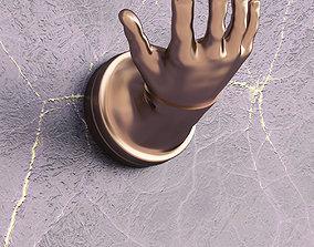 Hand shape hanger 3D printable model