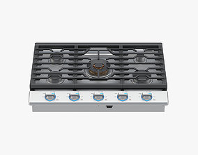 Samsung 30 Inch Gas Cooktop with 22K BTU True Dual 3D 1