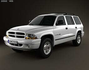 3D Dodge Durango 1997
