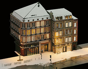 City Street Part 1 - European Architecture 3D