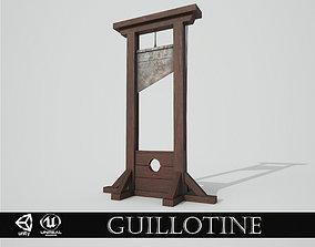 3D model Medieval Guillotine