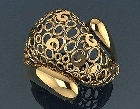 3D printable model sterling Ring 19
