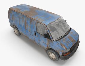 Rusty van 03 3D