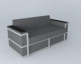 3D model cushions Sofa