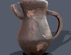 Medieval Jug 3D asset game-ready