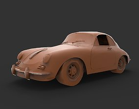 Porsche 356 3D print model