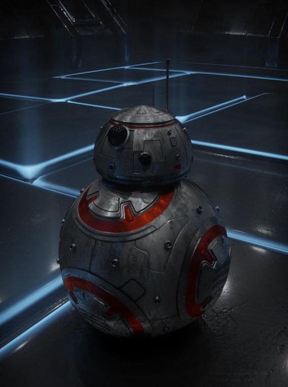 BB-8 in blue