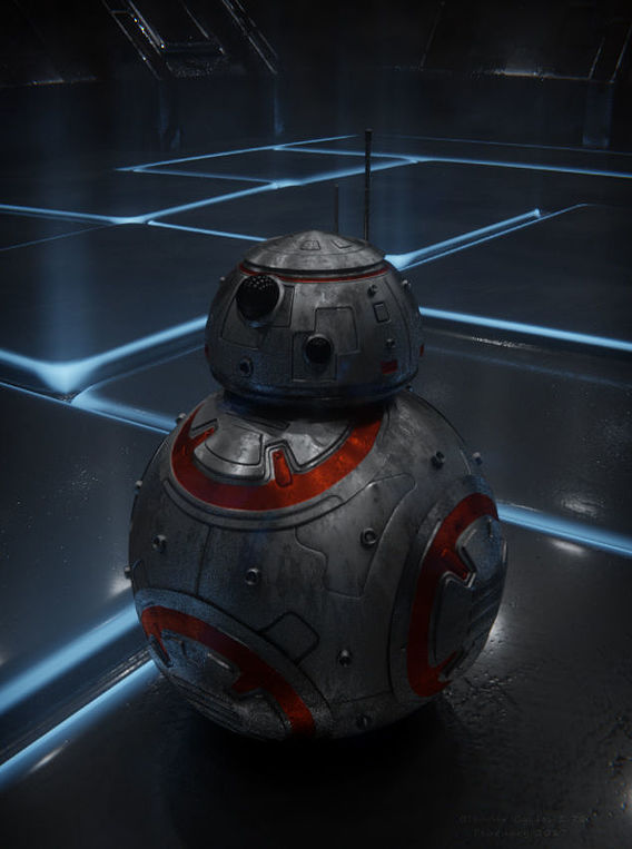 BB-8 in blue