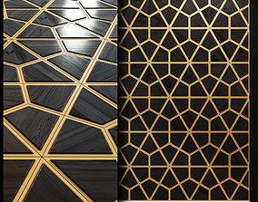 Wooden panel 3d decoration