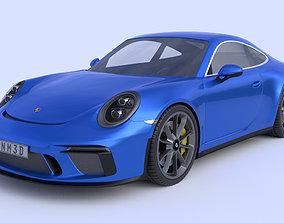 3D model 2018 Porsche 911 GT3 Touring