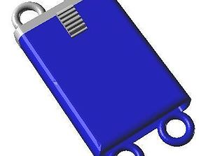Box clasps 25 - Library techique 3D - Conception of