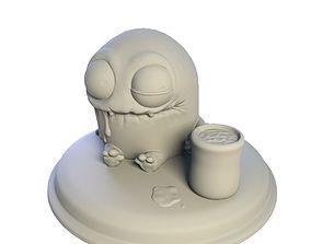 Desktop figure Sweet Hot Chocolate 3D print model