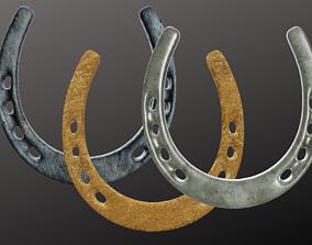 3D asset Horseshoe Collection