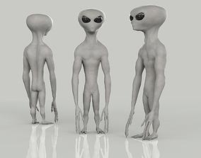 3D model Gray Alien