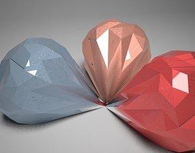 3D asset Beautifull diamond