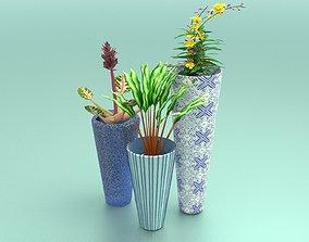 Flower Pots decoration 3D