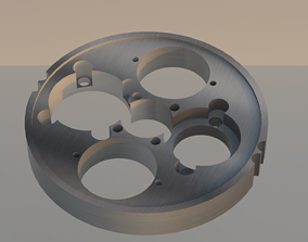 3D asset Mechanical Part