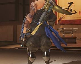 3D printable model Hanzo Quiver Overwatch