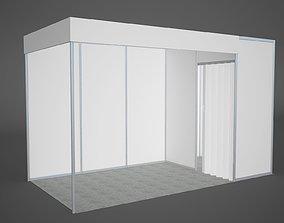 Exhibition stand octanorm 4x2 m 3D model