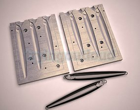 60-80-100 Gr JPR Long Metal Jig 3D print model