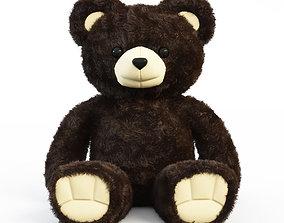 Brown Bear plush 3D