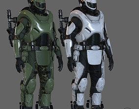 Military Exoskeleton R-20 3D asset