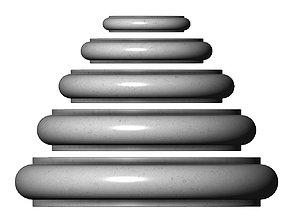 Single Bullnose Column Base 3D printable model