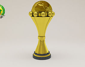 Africa Cup Of Nation 3D model