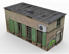 Old Slum House 2 3D asset low-poly PBR