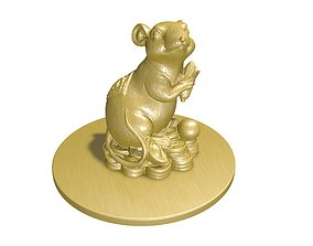3D China mouse