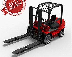 Hight Lift Truck LowPoly 3D model