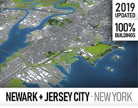 3D model realtime Newark - New Jersey - full area