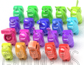 PACK 20 AMONG US 3D print model