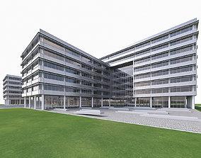 Research Center Building 3D model