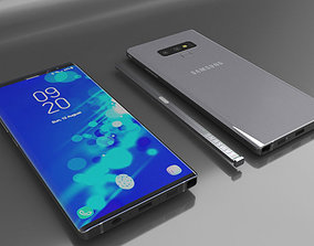 3D model Samsung Galaxy Note 9 New Version