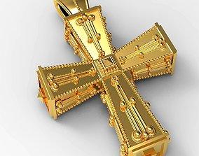 3D print model Antique Cross
