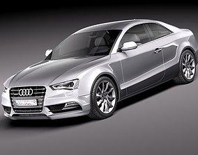 Audi A5 coupe 2012 3D model