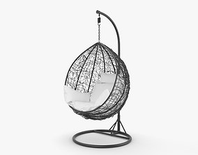 Hanging Chair egg 3D model
