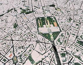 3D model Cityscape Brussel Belgium