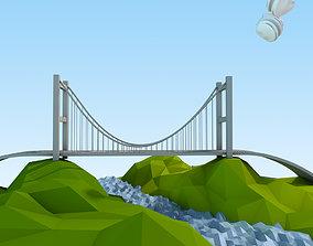 Istanbul Lowpoly 3D model