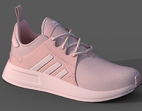 3D model ADIDAS Big Girls X-PLR Casual Athletic Sneakers 2