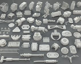 3D Kit bash - 58 pieces - collection-24