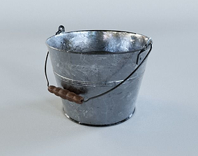 Tin bucket 3D