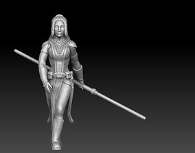 Ancient Female Warrior Bundle Dark and 3D print model 1