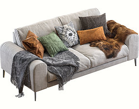 3D model Joy sofa 200 cm